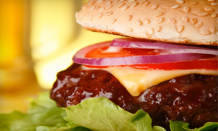 All Stars Sports Bar & Grill - Pompano Beach: Burger Meal with Appetizers and Beer for Two or Four at All Stars Sports Bar & Grill in Pompano Beach (Up to 55% Off)