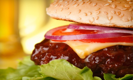 Burger Meal for 2 - All Stars Sports Bar & Grill in Pompano Beach