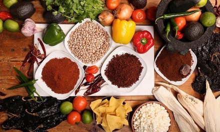 Two-Hour Mexican Cooking Class For One, Two, Three or Ten People from €36 at Cafe Azteca (Up to 54% Off)
