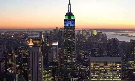 Two or Four Tickets to NY Skyride Tour in the Empire State Building (Up to 67% Off)