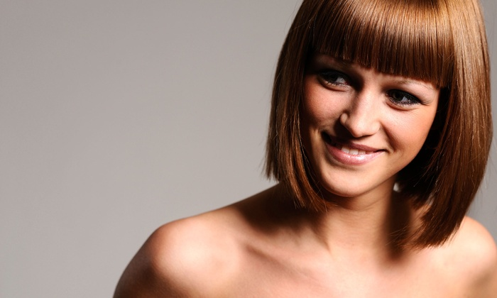 Kathy Klein at Allure Salon Professionals - Kalamazoo: Haircut Package with Optional Color from Kathy Klein at Allure Salon Professionals (Up to 57% Off)