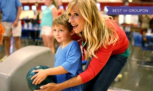 Strikes Unlimited: $40 for Bowling for Up to Six at Strikes Unlimited ($104 Value)