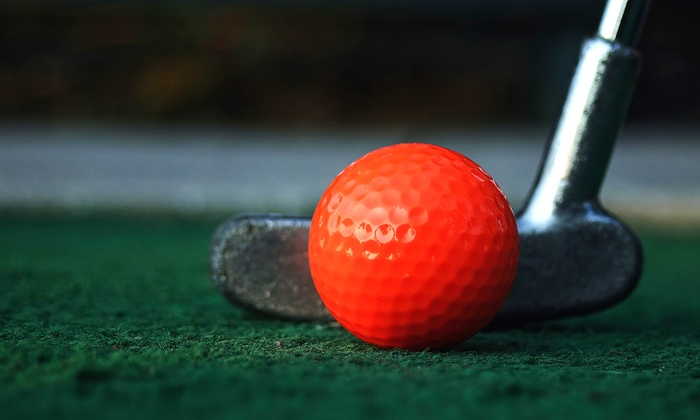 Puttville Indoor Mini Golf - East Ridge: $10 for $20 Groupon — PuttVille Indoor Mini Golf