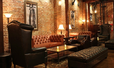 $59 for Whiskey Flights and Dinner for Two at Next Door Lounge (Up to $124 Value)