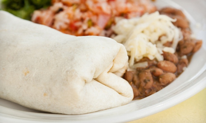 Cafe Silvestre - Multiple Locations: $10 for $20 Worth of Mexican Cuisine at Cafe Silvestre