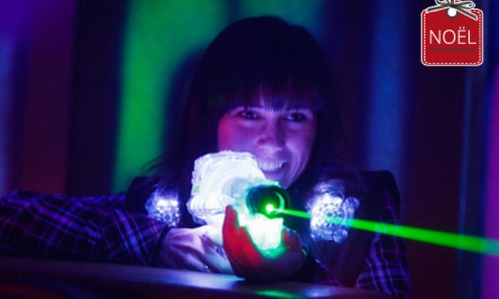 Laser Game Evolution - Laser Game Evolution Poitiers: 1 ou 2 parties de laser game et boissons avec 1 partie de squazer en option dès 5 € chez Laser Game Evolution