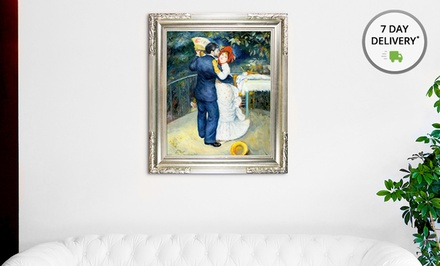 Framed Hand-Painted Renoir Oil Reproduction. Multiple Paintings Available from $129.99–$259.99. Free Returns.