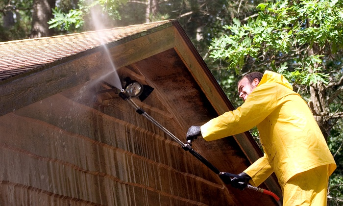 Integrity Power Washing Inc. - Maple Glen: Power Washing for a One- or Two-Story House from Integrity Power Washing Inc. (Up to 56% Off)
