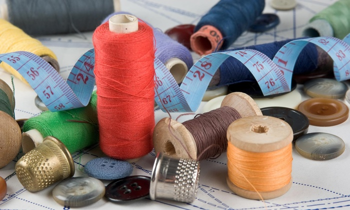 A Needle And Thread - Ribinson: Two-Hour Sewing Class at A Needle and Thread (50% Off)