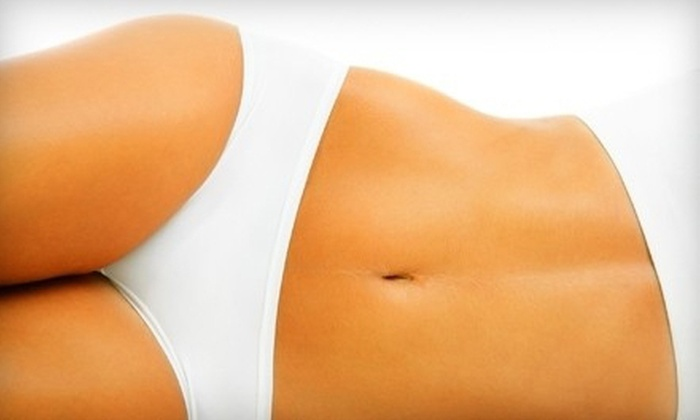 Natural Beauty Clinique - Multiple Locations: Two or Four Radio-Frequency Body-Sculpting and Skin-Tightening Treatments at Natural Beauty Clinique