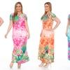Women's Plus Size Floral Maxi Dresses
