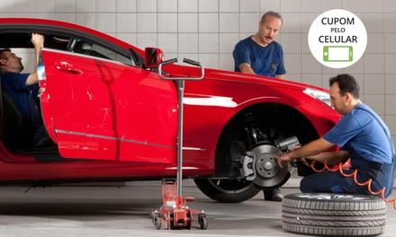 Bosch Car Service Pereira Barreto – St. André:alinhamento, balanceamento, rodízio e check-up (opção de óleo e mais)