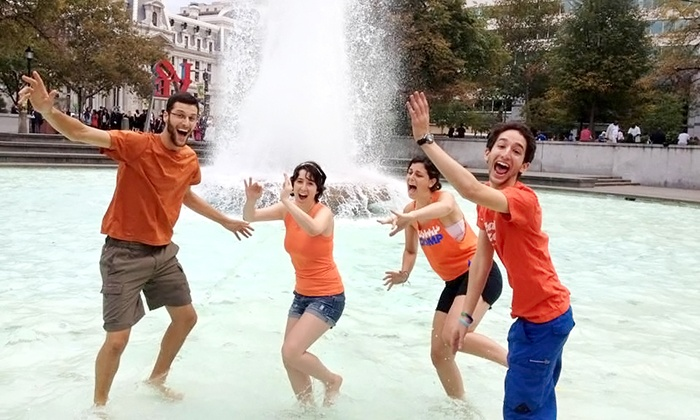 Urban Goose Chase - Cleveland: $46 for a Photo Scavenger-Hunt for Up to 6 from Urban Goose Chase on Sunday, August 3 ($99 Value)