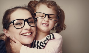 Eye-exam Package With Option For Lens-fitting At Precision Vision (up To 91% Off)