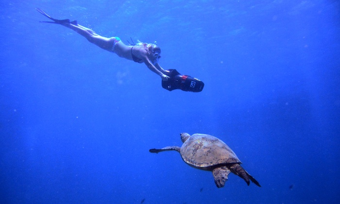 Ocean Legends - Ocean Legends: Scuba Excursions or Snorkel Scooter Tour from Ocean Legends (Up to 51% Off)