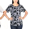 HBW Women's T-Shirt with Back Zipper