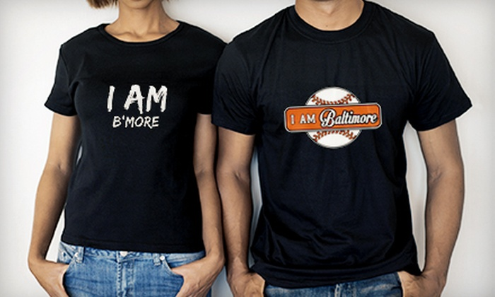 I Am Baltimore Clothing: $25 for $50 Worth of Hoodies and T-Shirts from I Am Baltimore Clothing