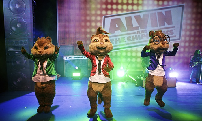 "Alvin & the Chipmunks - CITY NATIONAL GROVE OF ANAHEIM: ""Alvin and the Chipmunks: Live on Stage!"" on December 1 at 6 p.m."