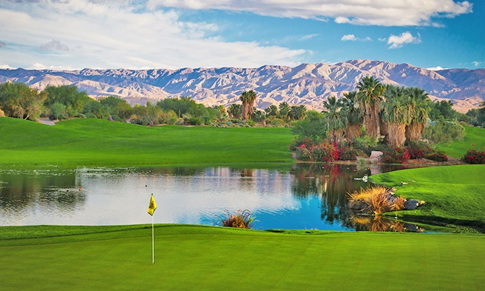 Desert Willow Golf Resort - Palm Desert: $59 for One 18-Hole Round of Golf with a Cart and Balls at Desert Willow Golf Resort (Up to $95 Value)