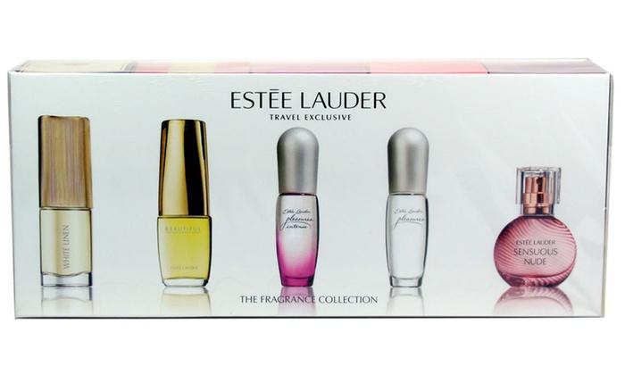 Est 233 E Lauder Perfume Set 5 Piece Groupon Goods