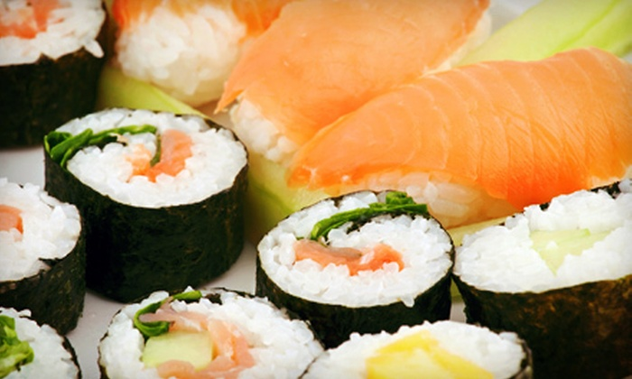 Fuji Sushi & Grill - Lincoln: $8 for $16 Worth of Japanese Food and Drinks for Two or More at Fuji Sushi & Grill