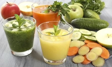 Three- or Six-Day Skinny Squeeze Juice Cleanse from The Squeeze (Up to 43% Off)