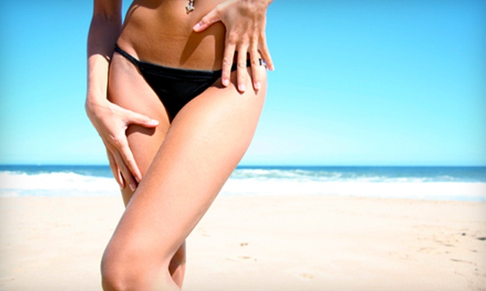Beaute Box - Dayton: Brazilian Wax with Vajazzling or One or Three Brazilian or Bikini Waxes at Beaute Box (Up to 56% Off)