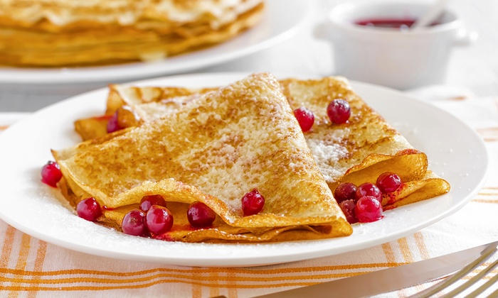 Natty's On Trinity Street - Abbeville: Crepes and Craft Beer at Natty's On Trinity Street (50% Off). Two options available.