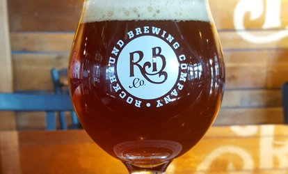 image for Beer at Rockhound Brewing Company (Up to 47% Off).
