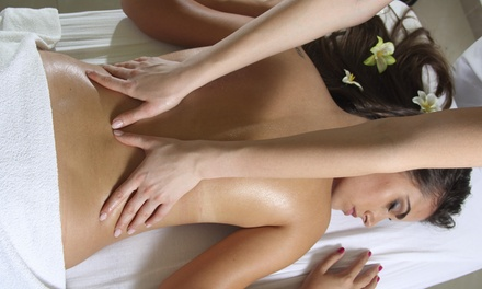 60- or 90-Minute Massages with Hot Stones at Yuki's Relaxation Spa (Up to 53% Off). Five Options Available.
