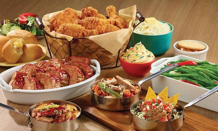 2, 5, 10, or 20 Groupons, Each Good for $10 Worth of Food and Drinks at HomeTown Buffet (Up to 40% Off)