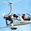 Vol au-dessus des châteaux de la Loire en autogire