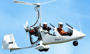 Ferme de la Maugerie: Vol au-dessus des châteaux de la Loire en autogire dès 89,90 € avec Maugerie ULM