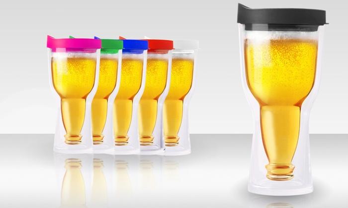 Brew2Go Beer Tumbler 2 Pack: 2-Pack of Brew2go Beer Tumblers. Free Returns.