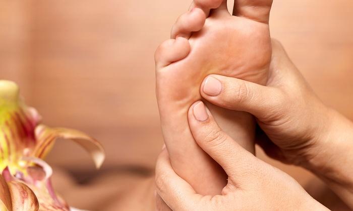 Newbury Foot & Body Work - Back Bay: 60-Minute, 90-Minute, or Couples 90-Minute Reflexology & Bodywork atNewbury Foot & Body Work(Up to 51% Off)
