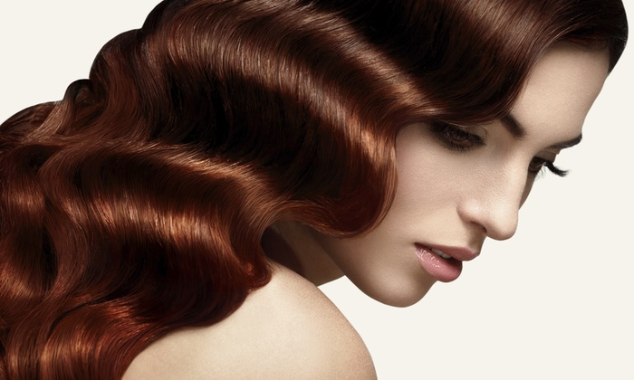 Adore Salon - Merritt Park Place: Color and Blow-Dry from Adore Salon (55% Off)
