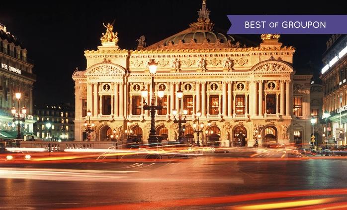 Paris : 1 à 3 nuits avec petit déjeuner, croisière sur la Seine en option, au Forest Hill La Villette 4* pour 2, 3 ou 4