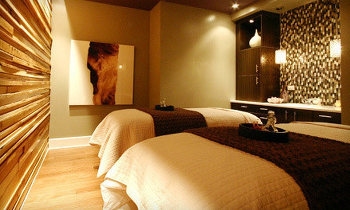Adelaide Spa - Asheville: Signature Facial Package or Massage and Facial Package at Adelaide Spa (Up to 52% Off)