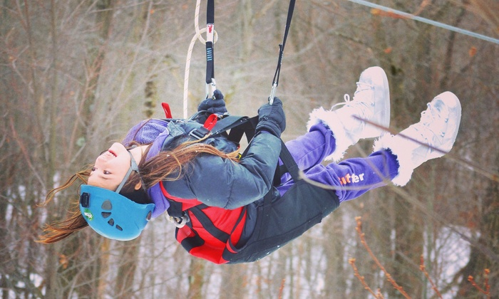 Zoom Ziplines - Zoom Zipline Mountain Creek: Two-Hour Zipline Experience for One, Two, or Ten at Zoom Ziplines (Up to 38% Off)