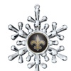 NFL Snowflake Ornament
