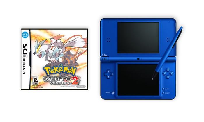 Nintendo DSi XL (Refurbished) and Pokemon White Version 2 Bundle: Nintendo DSi XL (Refurbished) and Pokemon White Version 2 Bundle
