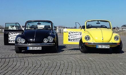 Düsseldorf-Tour mit VW Käfer für 2-10 Personen mit Düsseldorf Safari ab 59 €