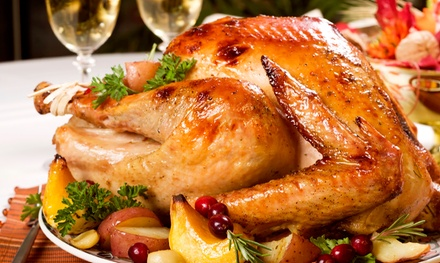 Thanksgiving Meal for 6 or 10, or Cooked Turkey at BetterHealth Store (Up to 51% Off). Four Options Available.