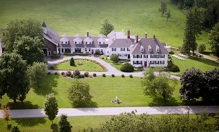 Groupon Deal: One-Night Stay at The Inn at Woodstock Hill in Woodstock, CT