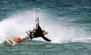 Captain Kirk's: Intro to Kiteboarding Lesson for One or Two with Equipment Provided at Captain Kirk's in San Pedro (Up to 56% Off)