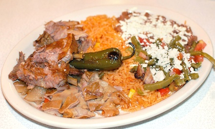 Mexican Cuisine at Carnitas Guanajuato Mexican Restaurant (50% Off)