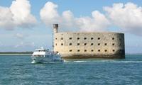 Promenade en mer vers Fort Boyard etou escale Île d'Aix pour 2 adultes ou en famille dès 20 € au départ de La Rochelle