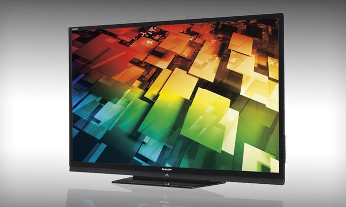 Sharp 60-Inch HD 1080p LED TV: $899 for a Sharp 60-Inch HD 1080p LED TV (Refurbished) ($1,999 List Price). Free Shipping.