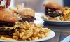 Frack Burger - Multiple Locations: $17 for One Double Piggy Back or Bareback Frack Burger with Side and Drink at Frack Burger ($26 Value)