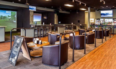 Virtual Golf for Two or Four with Beer at Clubhouse Golf Center (Up to 52% Off)